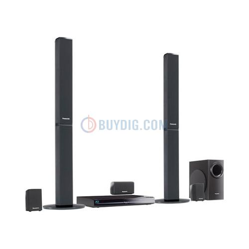BuyDig - Panasonic 1,000W 5.1 Blu-ray Home Theater System - $334.99