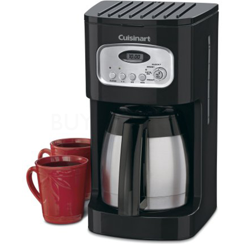 Coffee Maker Jcpenney : Cuisinart DCC-1150BKFR 10-Cup Programmable Thermal Coffeemaker eBay