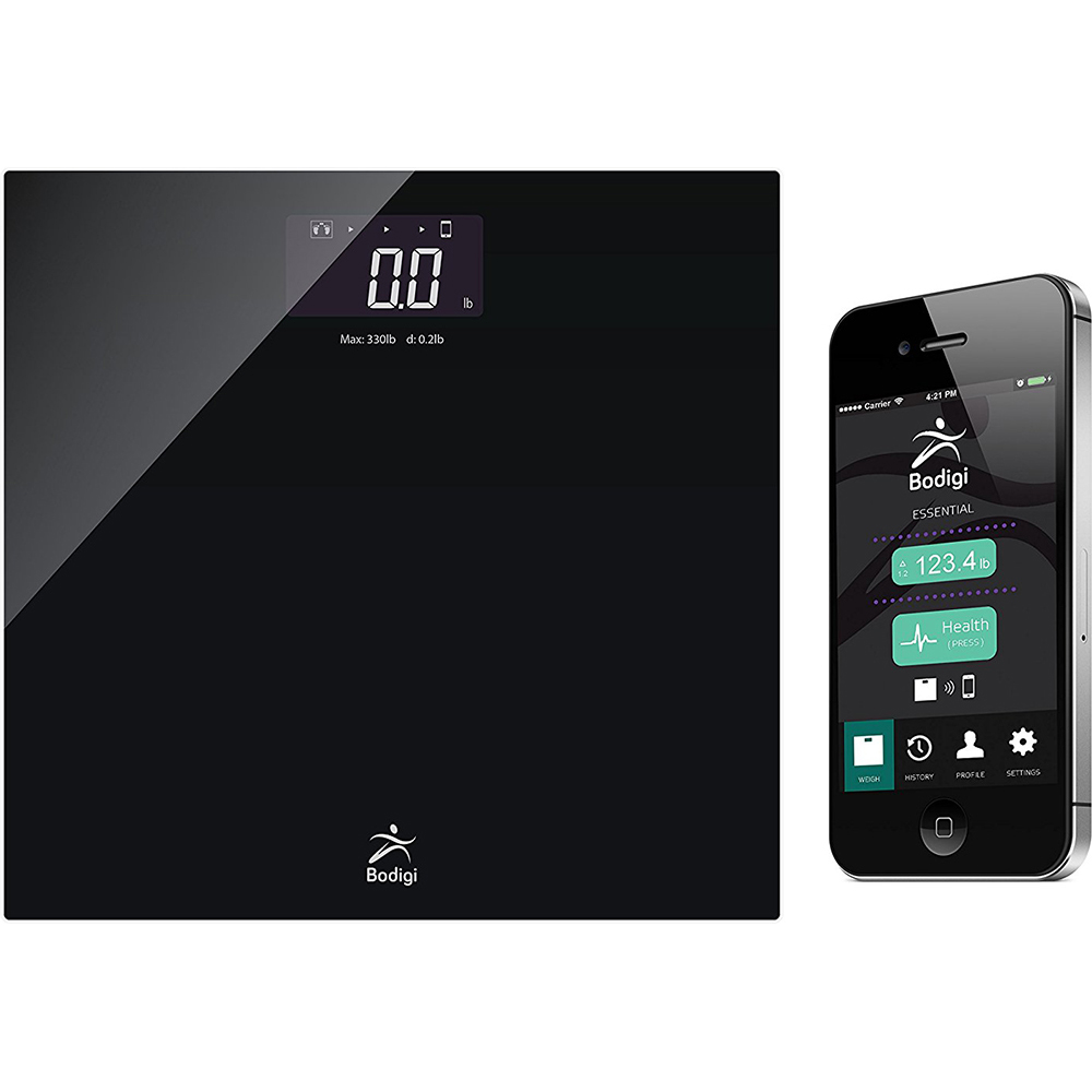 American Weigh Scales Wireless Bathroom Scale - Bodigiessential