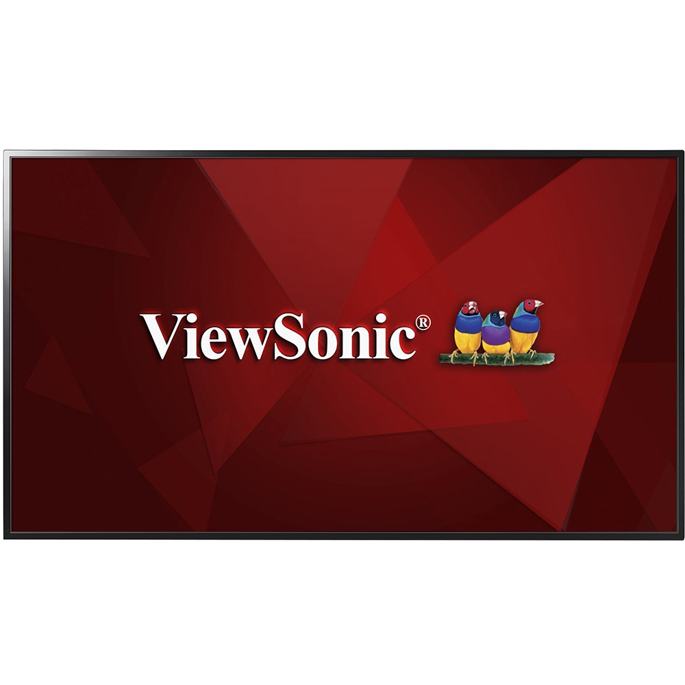 ViewSonic CDE4302 43 1080p Commercial LED Display with USB Media Player, HDMI