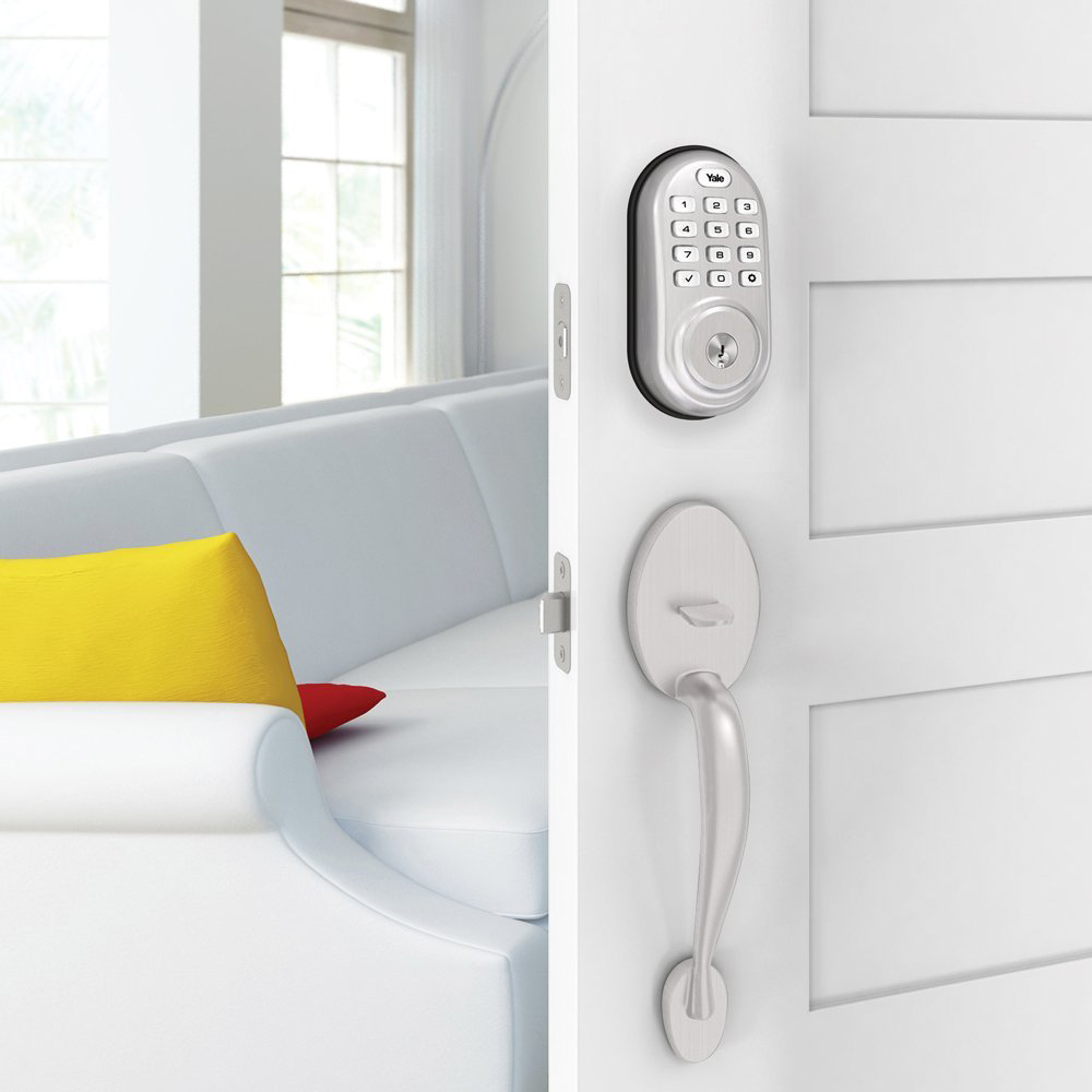 Yale Locks Assure Lock Push Button with Z-Wave on sale