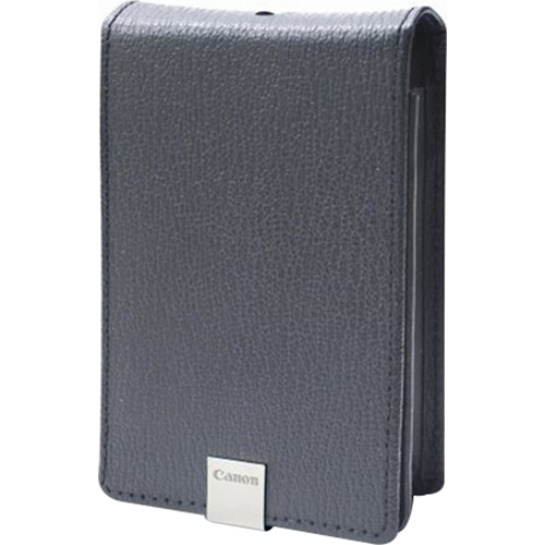Canon PSC-1000 Grey Deluxe Leather Case for SD1200 IS,  SD1100 IS,  SD960 IS,  SD770 IS