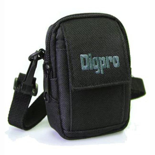 DigPro Small Digital Camera Deluxe Gear Carrying Case - DP2000