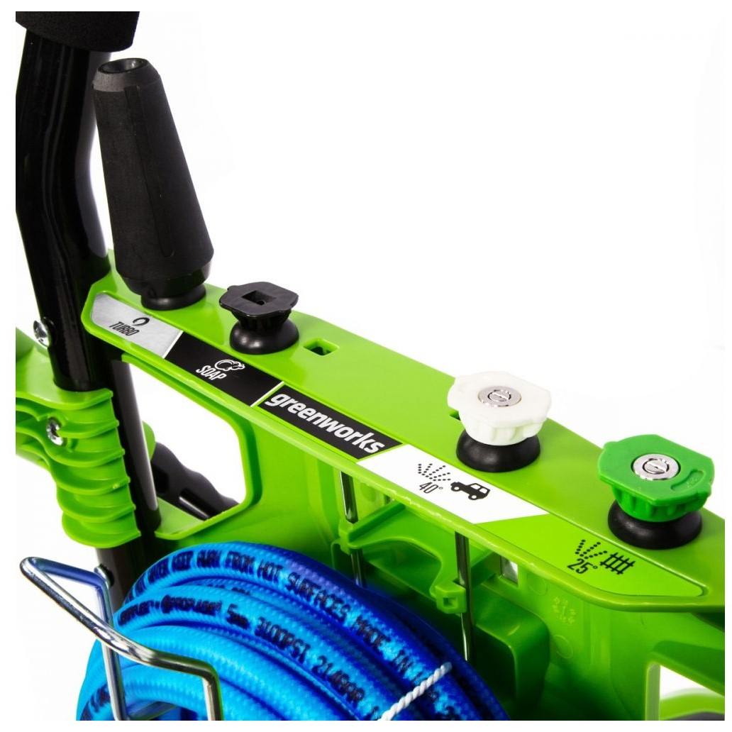 Greenworks GPW2006 2000 PSI 1.2 GPM Cold Water Electric Pressure Washer Factory Refurbished (GW5107402RCRB 5107402-RC) photo