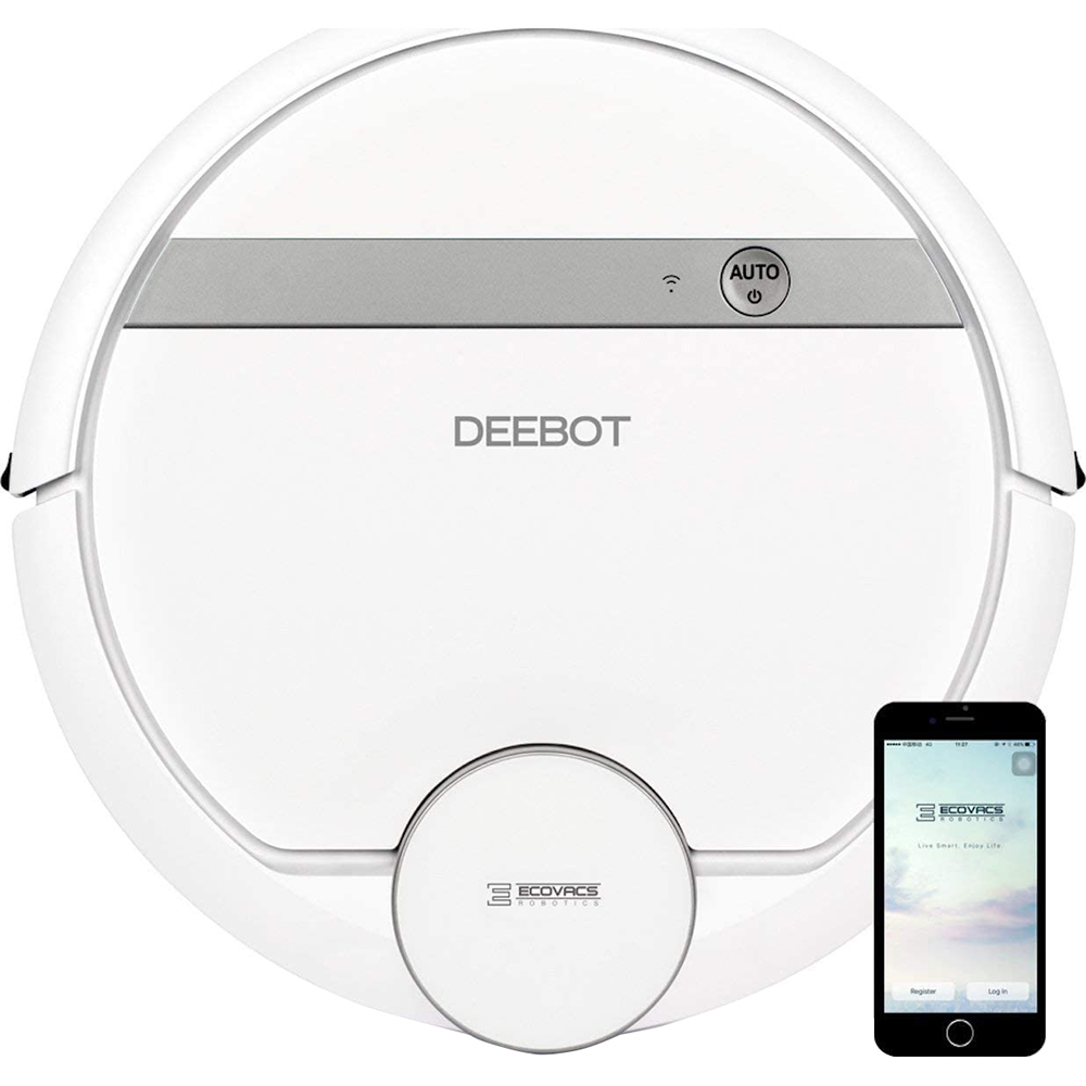 ECOVACS DEEBOT 907 Robot Vacuum on sale