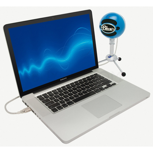 blue microphones snowball usb microphone neon blue ebay. Black Bedroom Furniture Sets. Home Design Ideas