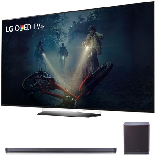 "LG B7A Series 65"" OLED 4K HDR Smart TV 2017 Model With SJ9"