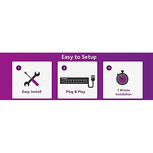 Details about Netgear 48 - port Gigabit Smart Managed Plus Switch -  GS750E-100NAS