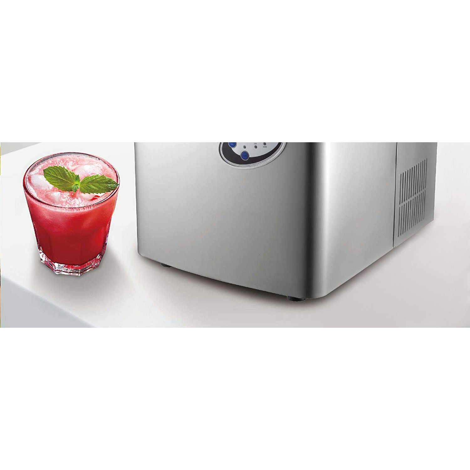 Frigidaire Extra Large Stainless Steel Ice Maker - EFIC115