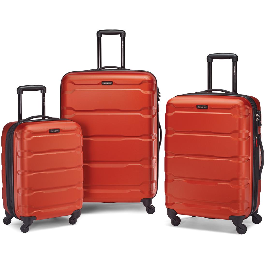 Samsonite Omni Hardside Luggage Set NEST (SP20/24/28)(Burnt Orange ...