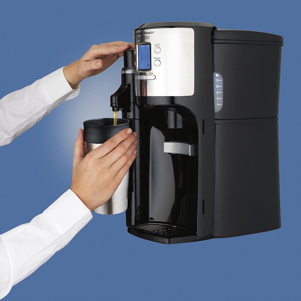 Hamilton Beach BrewStation with Flavor Dispenser Coffee Maker (49150) Black 40094491506 eBay