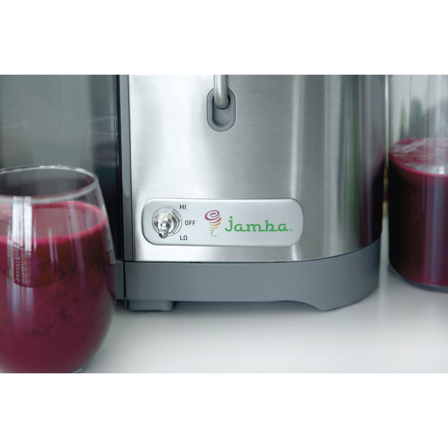 Jamba Appliances Centrifugal 1100w Juice Extractor Gray w 34oz Pitcher