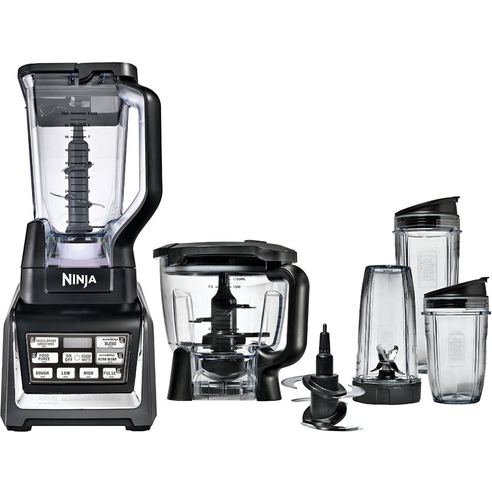 Ninja Kitchen System 1200: 1500-watt Nutri Blender System With Auto-iQ