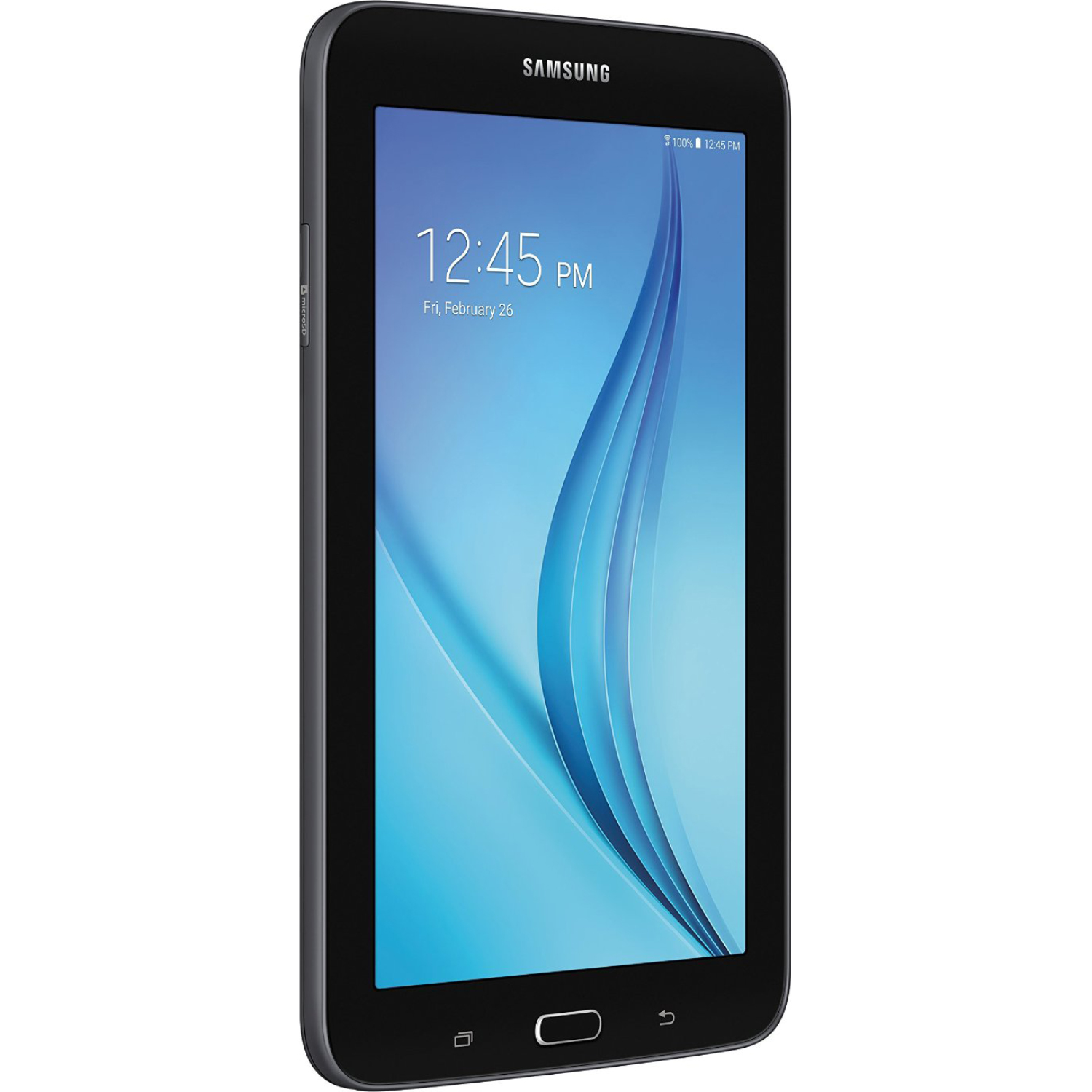 samsung galaxy tab e lite 7 0 8gb wi fi black. Black Bedroom Furniture Sets. Home Design Ideas