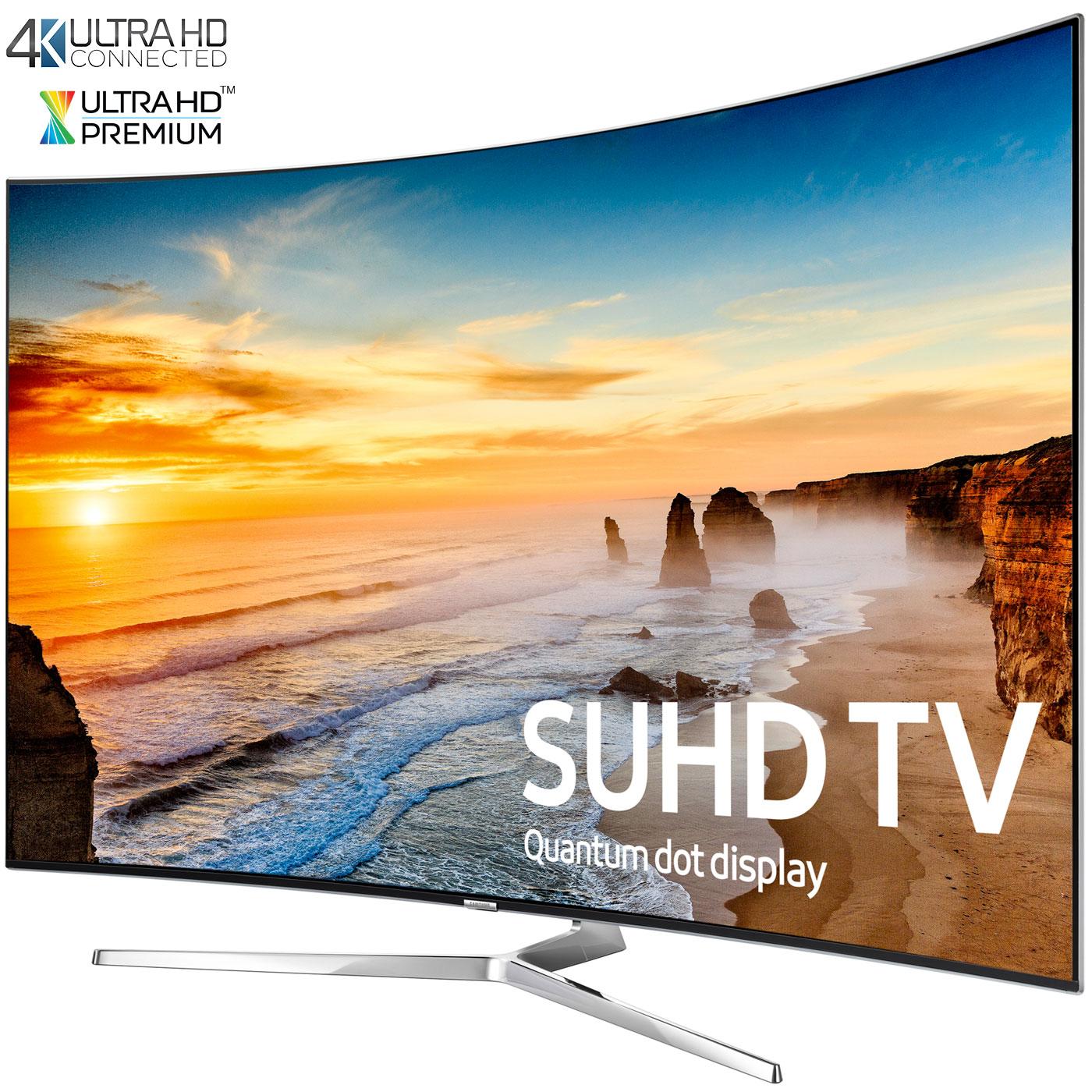 samsung un65ks9500 curved 65 inch 2160p smart 4k suhd led tv ks9500 9 series ebay. Black Bedroom Furniture Sets. Home Design Ideas