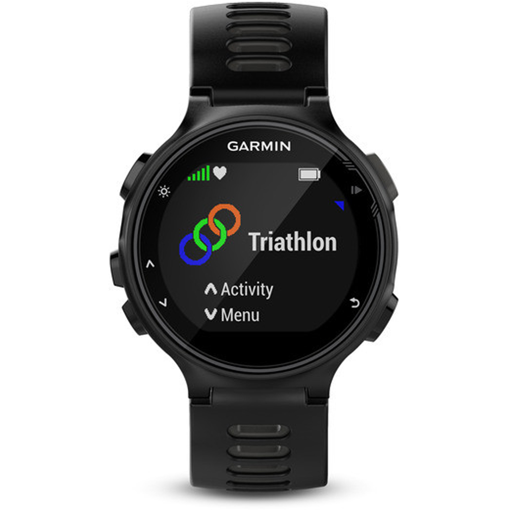 Garmin Forerunner 735XT GPS Running Watch with Multisport Features - Black/Gray | eBay