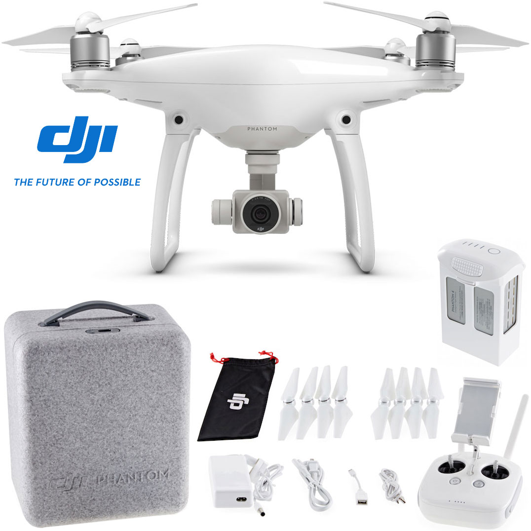 Dji Phantom 4 >> Dji Phantom 4 Quadcopter Drone Standalone Or Custom Backpack