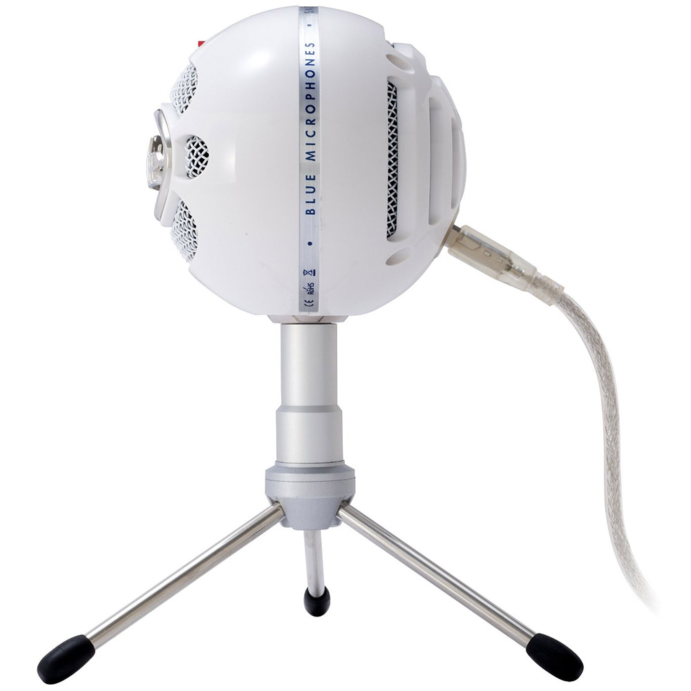 blue microphones snowball ice versatile usb microphone white ebay. Black Bedroom Furniture Sets. Home Design Ideas