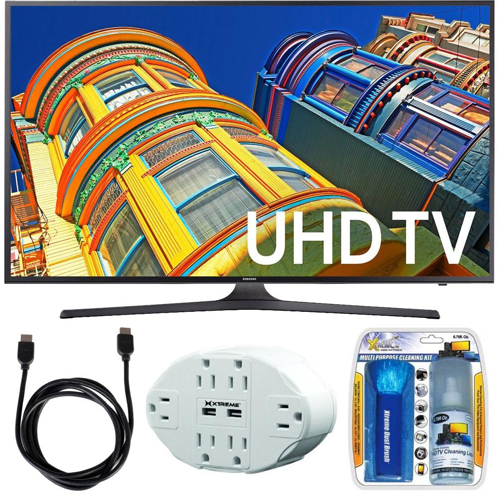 samsung ku6300 4k uhd hdr led smart tv bundle choose. Black Bedroom Furniture Sets. Home Design Ideas