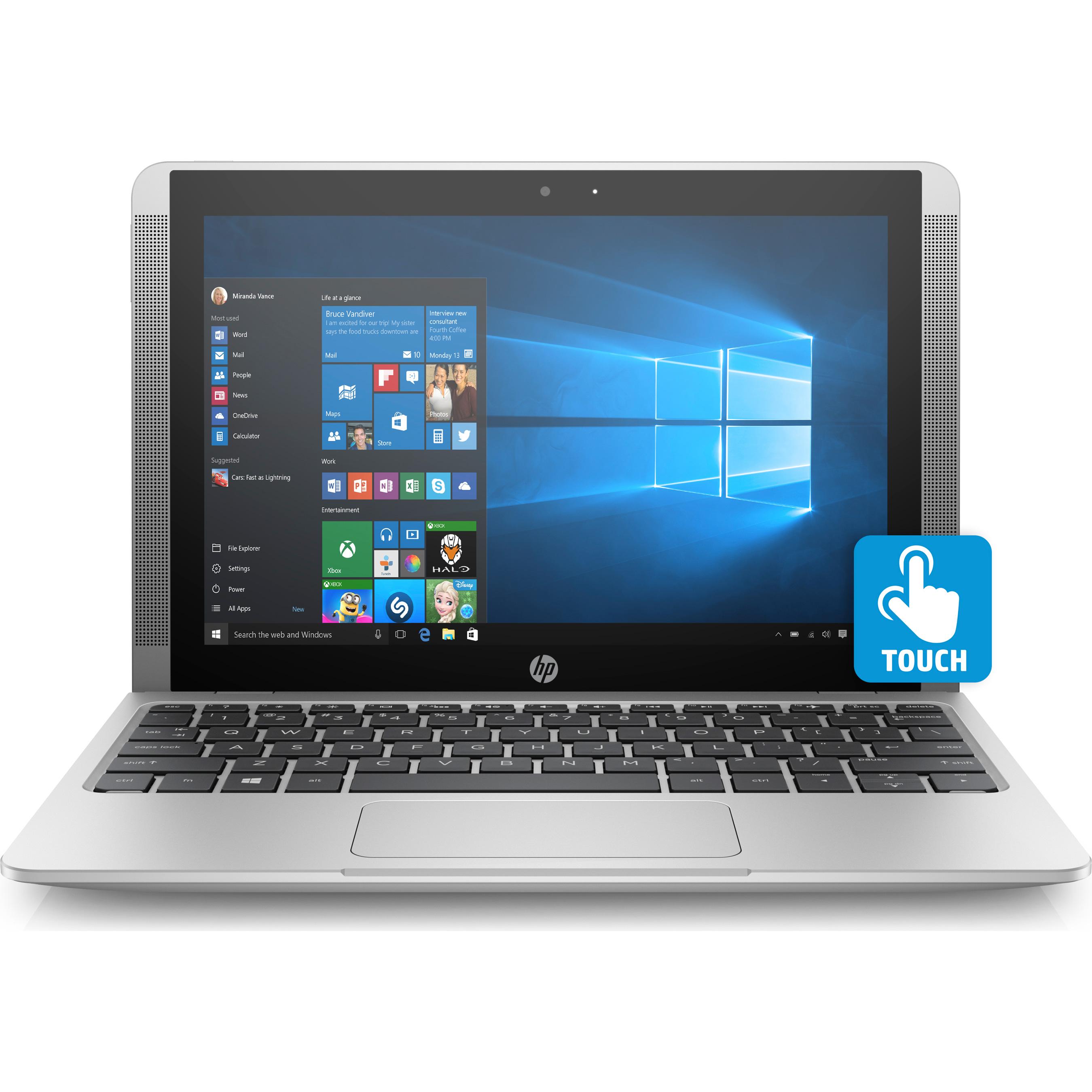 "Hewlett Packard x2 Detachable 10-p020nr 10.1"" Multitouch ..."