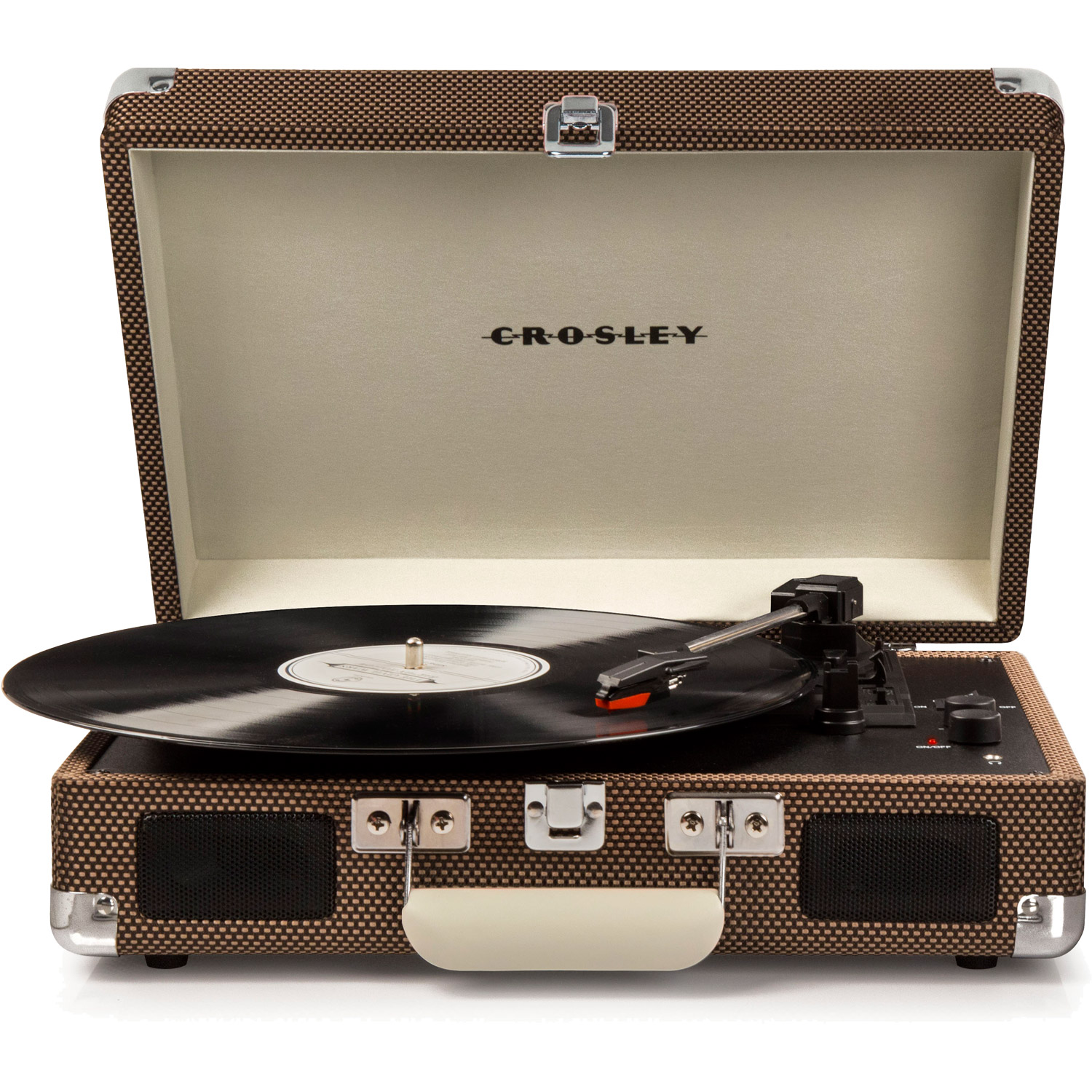 Crosley Cruiser Portable 3 Speed Turntable With Bluetooth Cr8005d