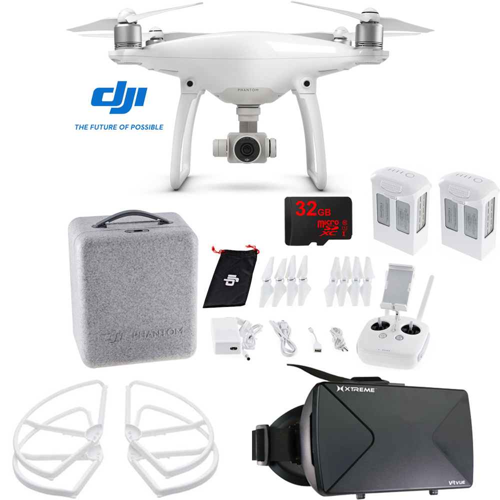 DJI Phantom 4 Quadcopter Drone FPV Virtual Reality Experience | eBay