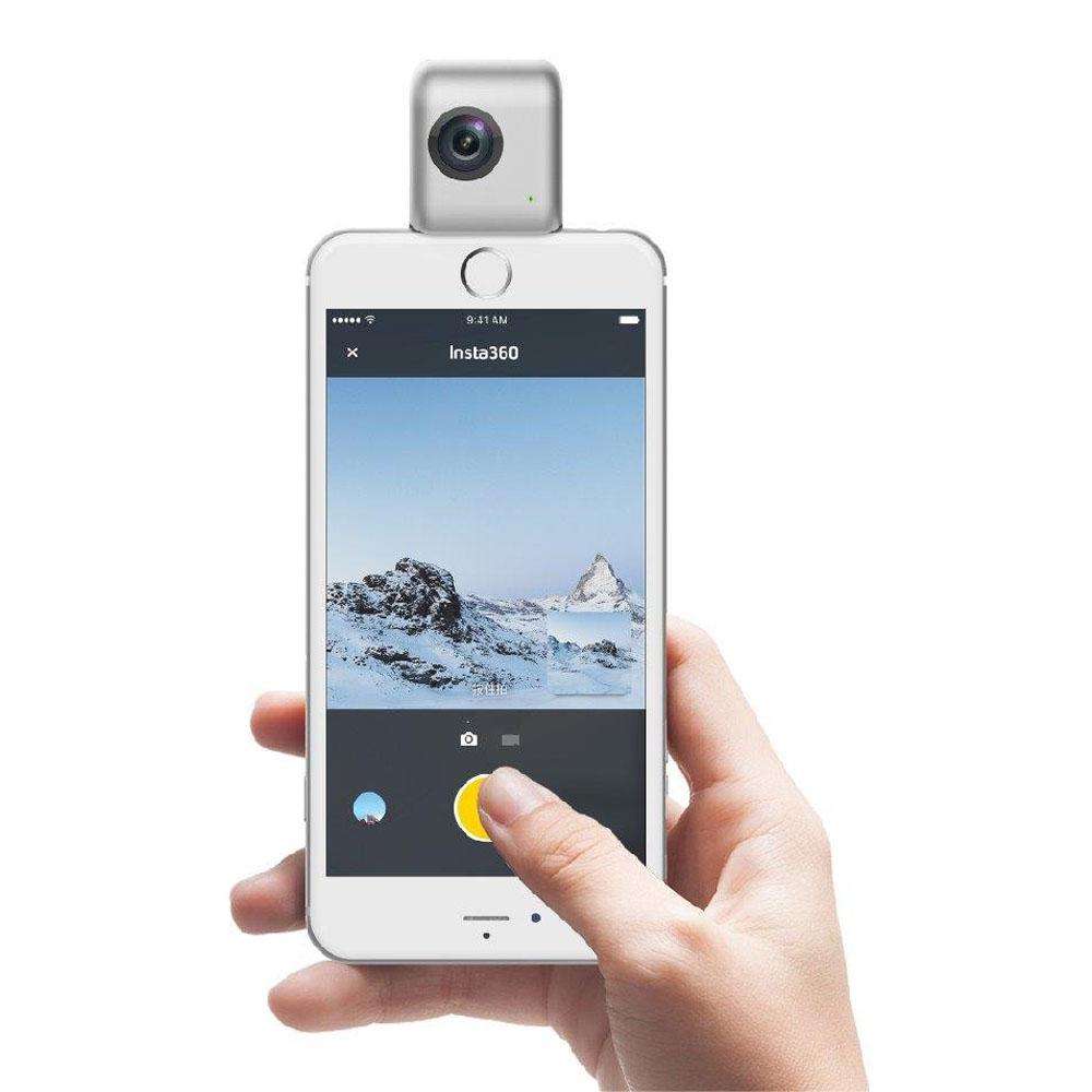 Insta360 Nano 360 Degree Dual Lens Vr Camera For Iphone 7 7p 6s 6sp