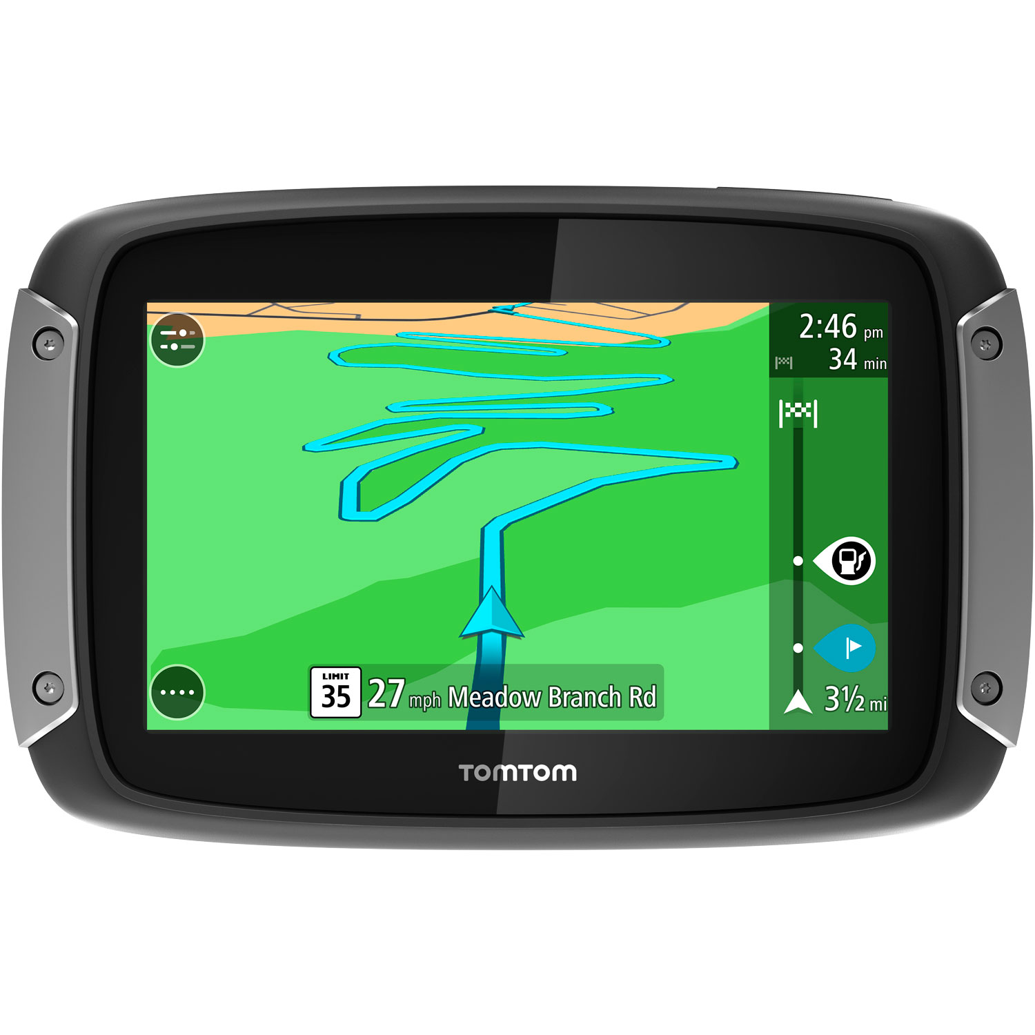 tomtom rider 400 motorcycle gps navigation device. Black Bedroom Furniture Sets. Home Design Ideas