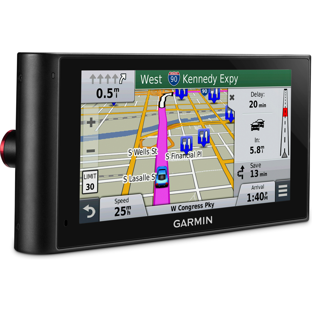 garmin nuvicam lmthd 6 gps navigation built in dashcam. Black Bedroom Furniture Sets. Home Design Ideas