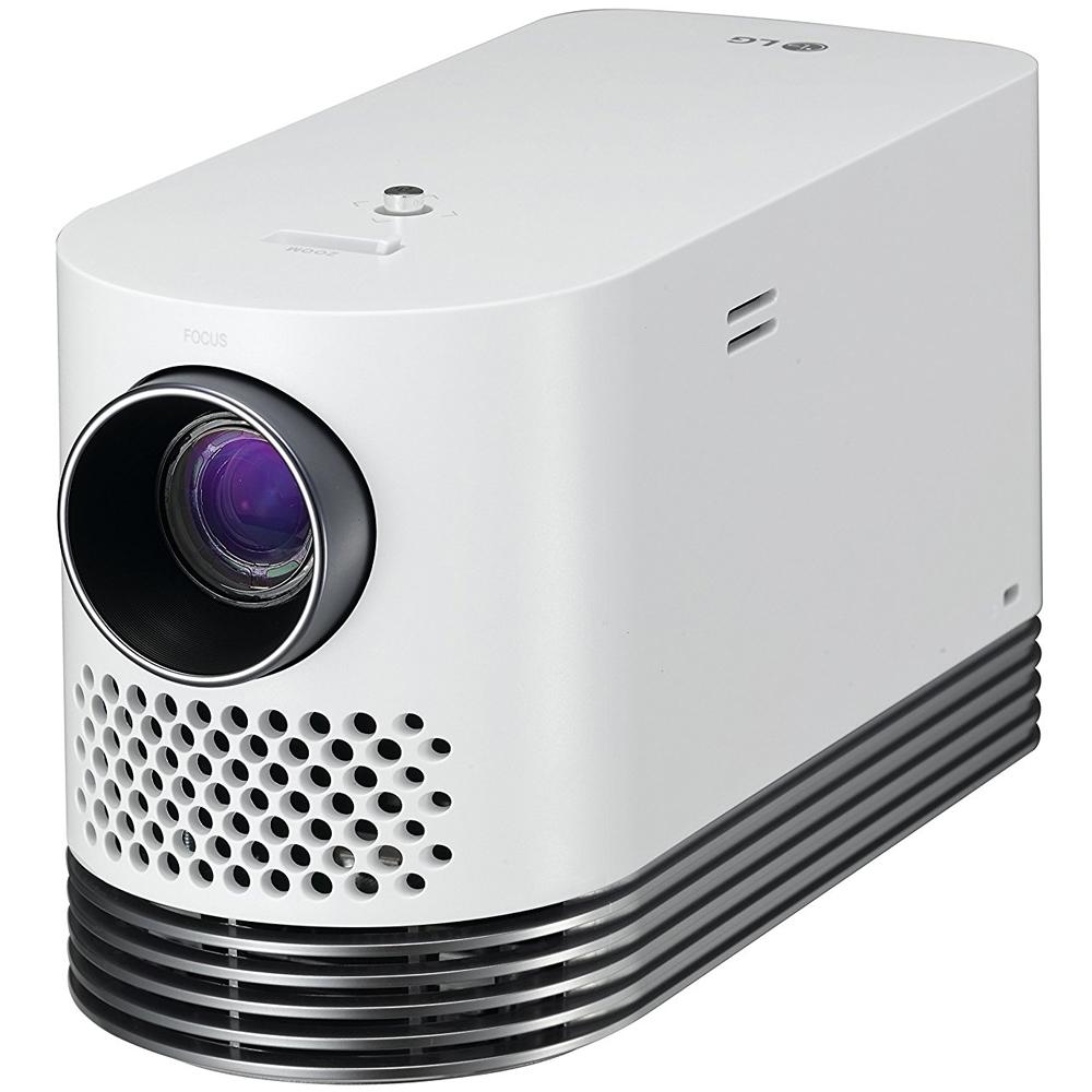 Lg minibeam nano 130 lumen hd lcos pico projector ph150g b amp h - Lg Laser Smart Home Theater Projector White Hf80ja