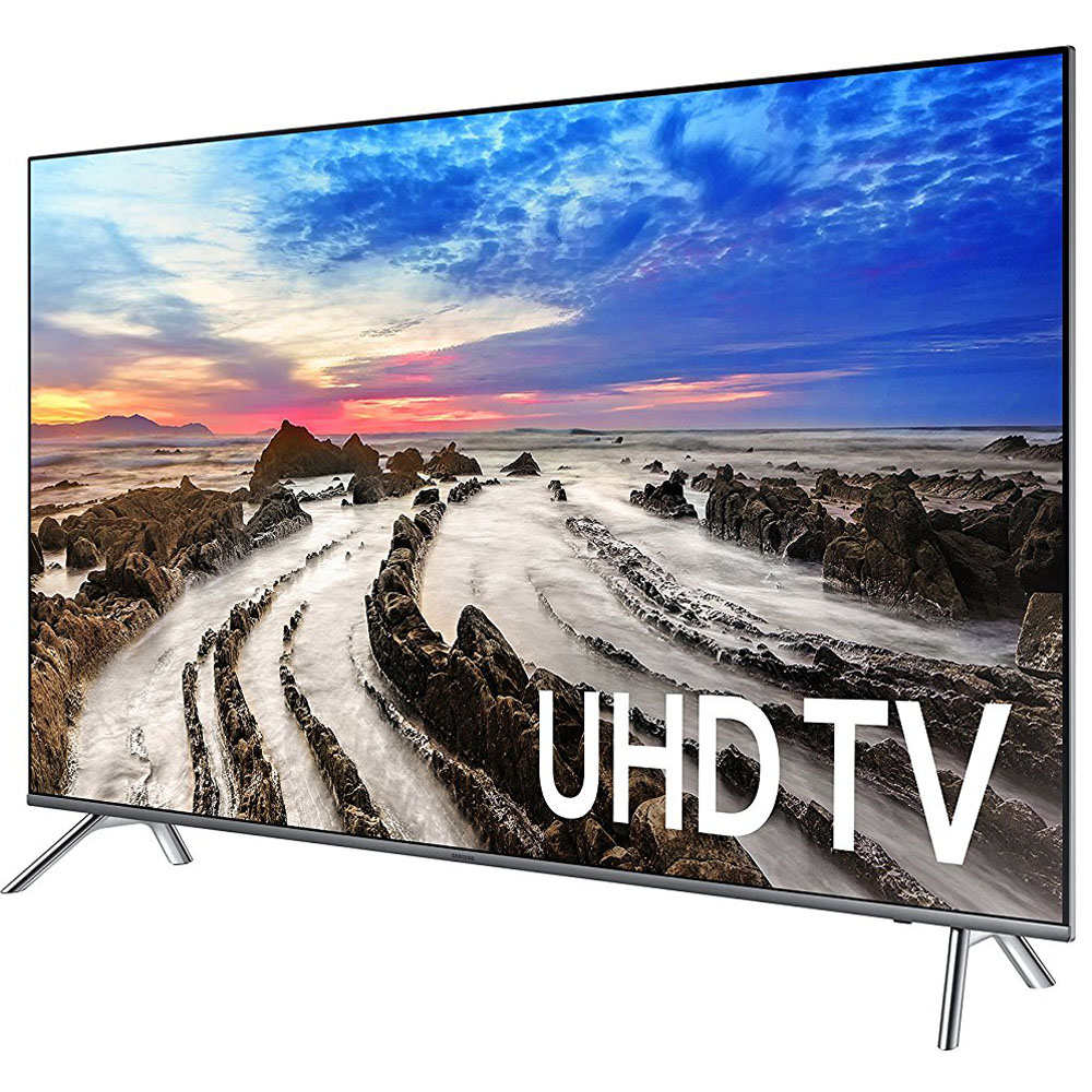 samsung un55mu8000fxza 55 4k ultra hd smart led tv 2017 model ebay. Black Bedroom Furniture Sets. Home Design Ideas
