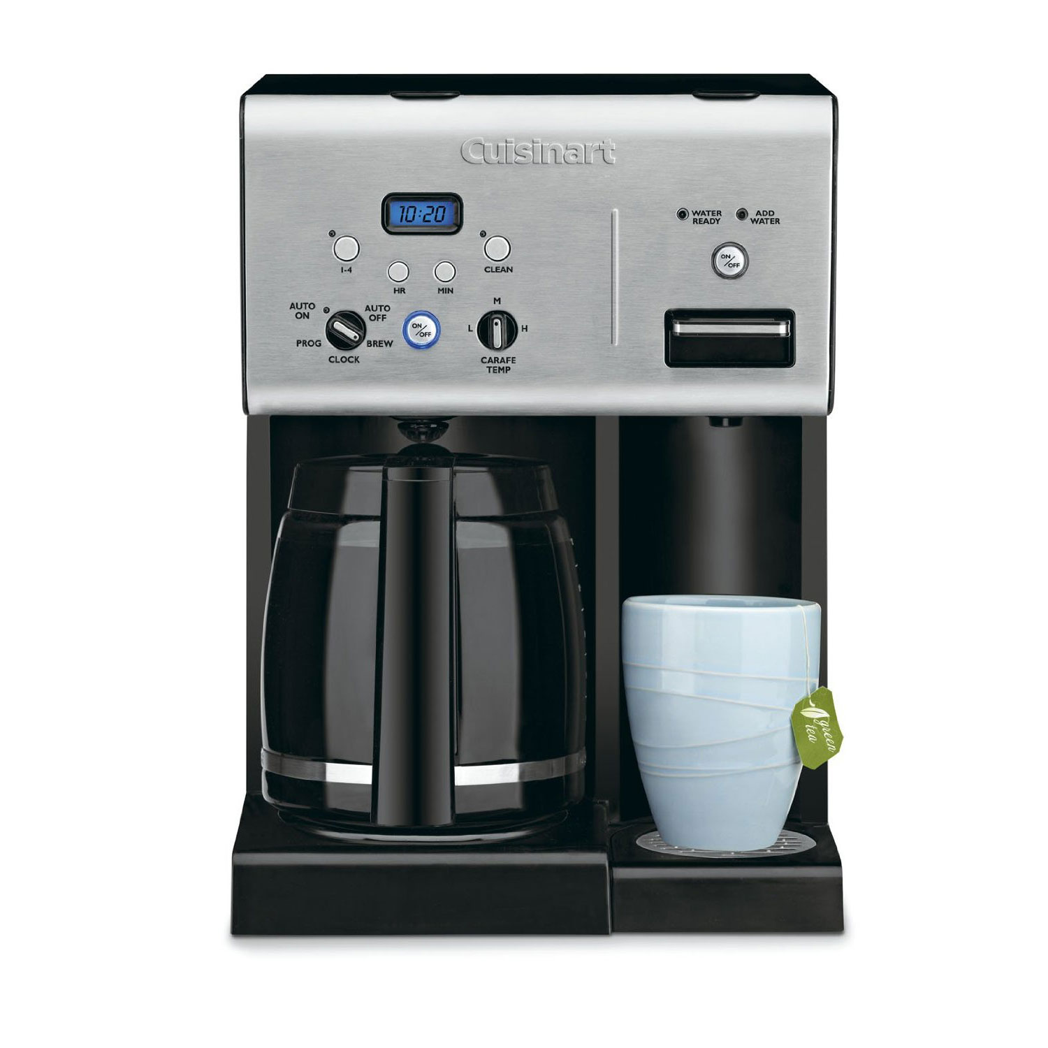 cuisinart 12-cup programmable coffeemaker with hot water system manual