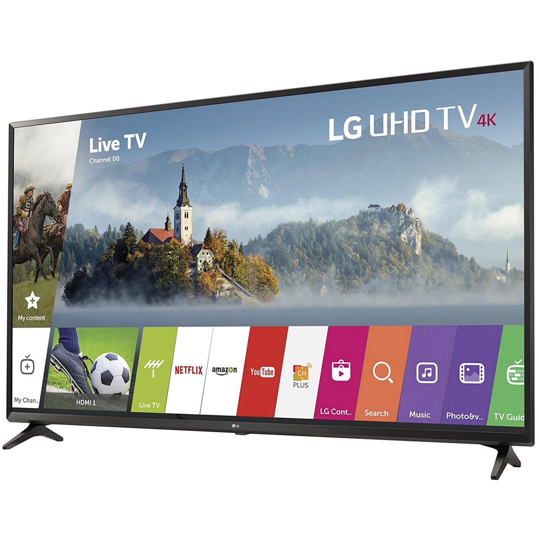 """Lg Uhd Tv 4k 49 Price In India 55 Zoll Full Hd Gebraucht Outdoor Hdtv Antenna 100 Mile Range Hdtv Cable Uses: LG 49UJ6300 - 49"""" UHD 4K HDR Smart LED TV (2017 Model)"""