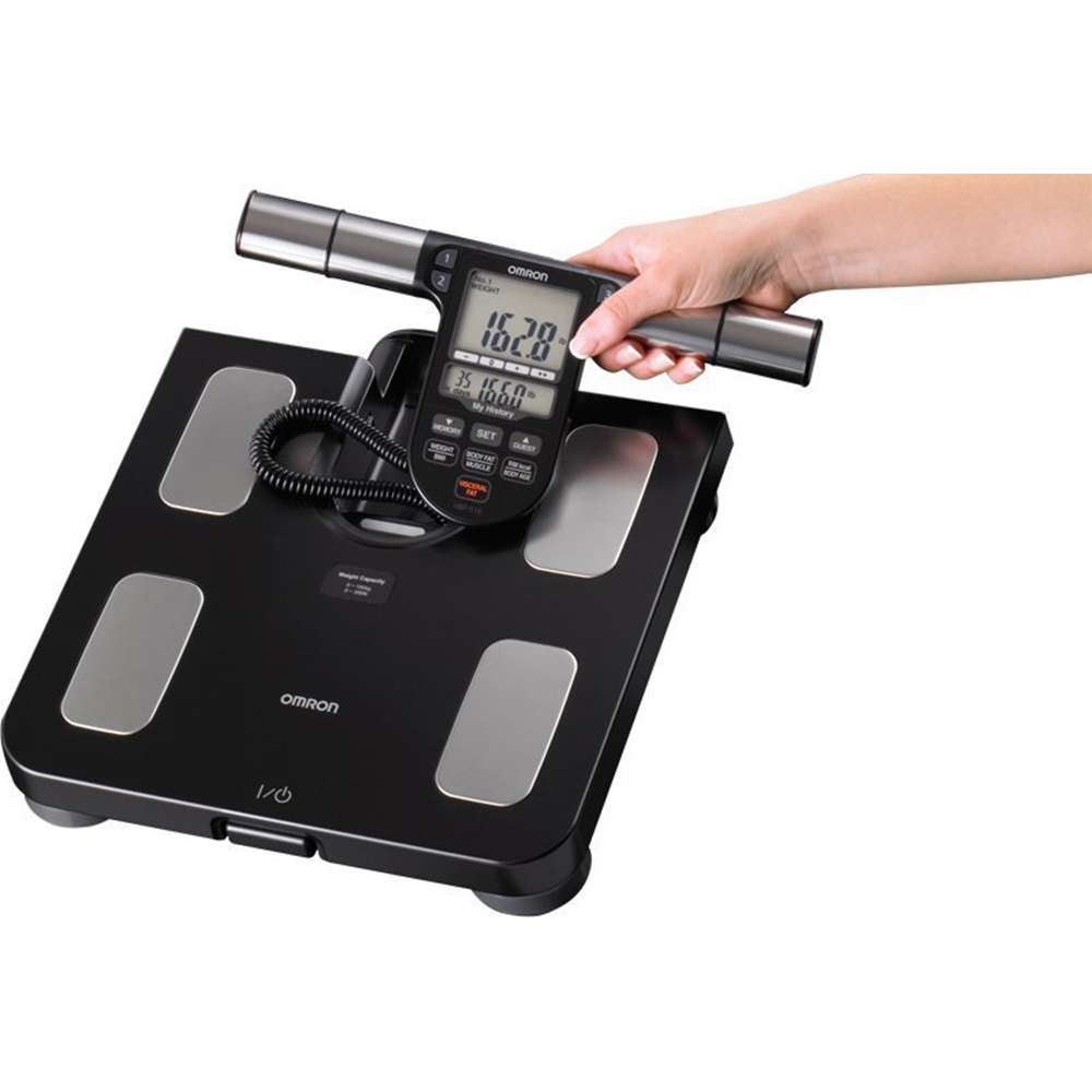Omron HBF-516B Full-Body Sensor Body Composition Monitor ...