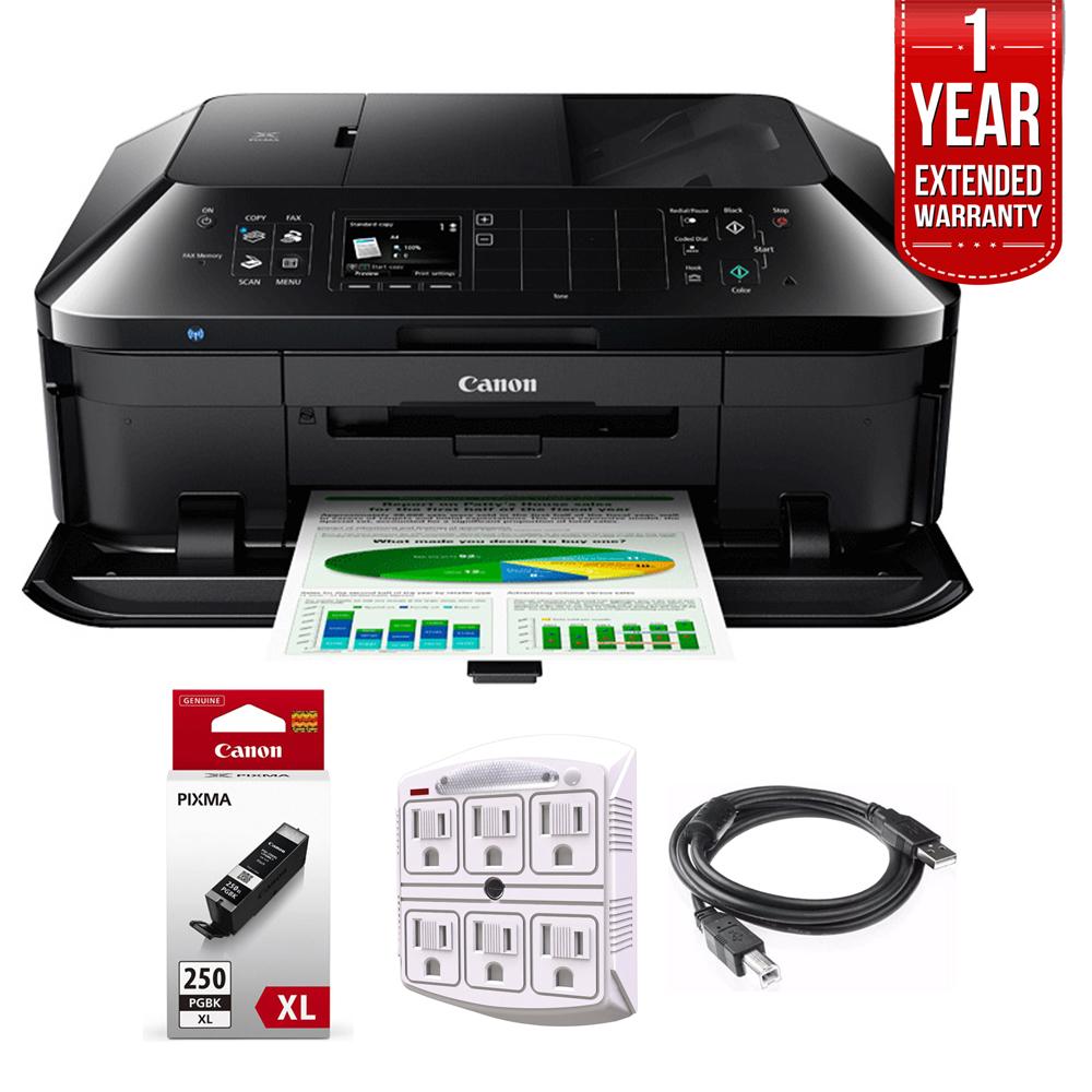 Canon PIXMA MX922 Wireless Inkjet All-In-1 Printer + 1 ...