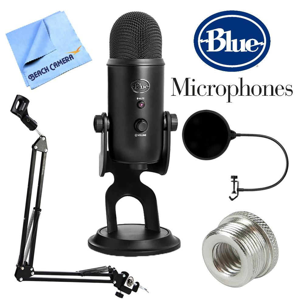 blue microphones yeti professional usb desk microphone w accessories bundle ebay. Black Bedroom Furniture Sets. Home Design Ideas