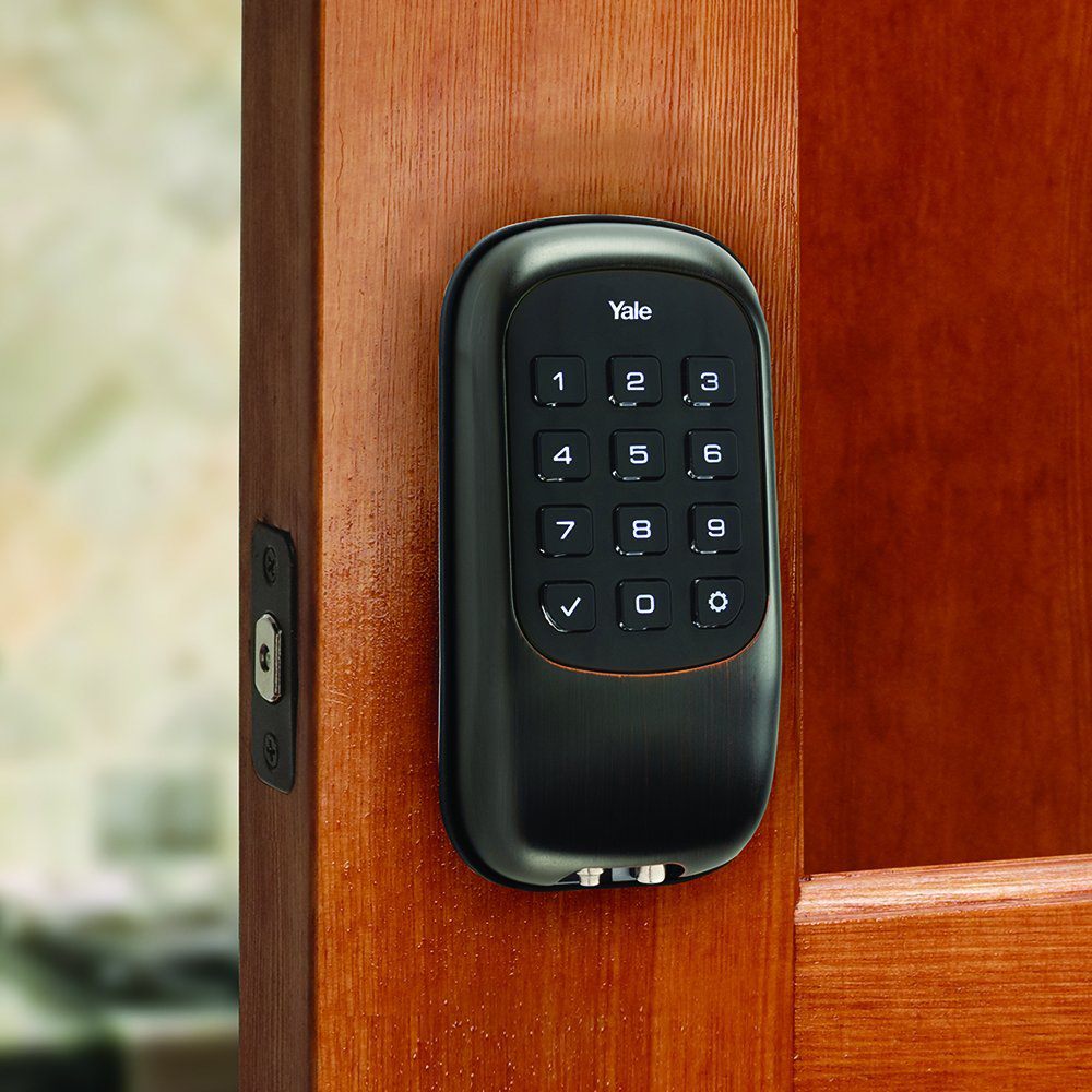 Yale-Locks-B1L-Lock-Push-Button-Door-Security-Bolt-w-Z-Wave-YRD110-Choose-Color