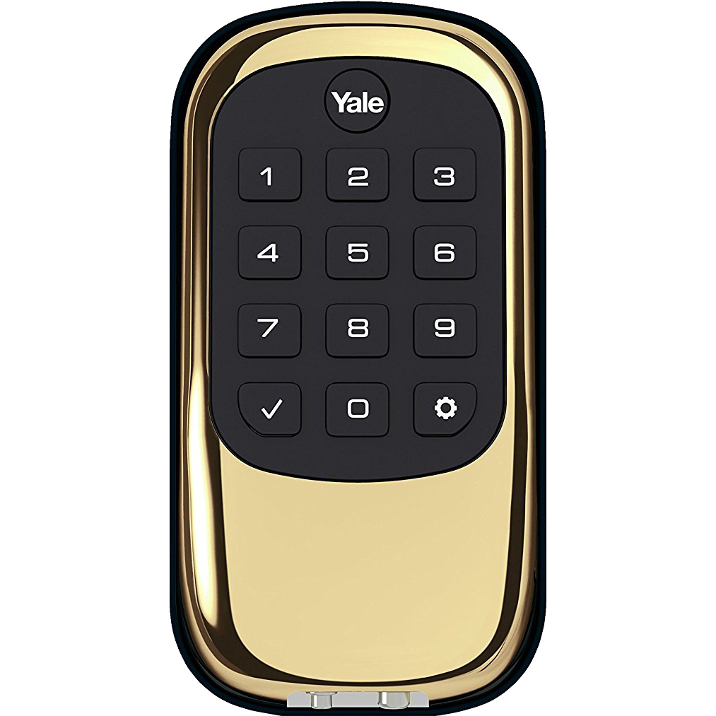 Yale-Locks-B1L-Lock-Push-Button-Door-Security-Bolt-w-Z-Wave-YRD110-Choose-Color