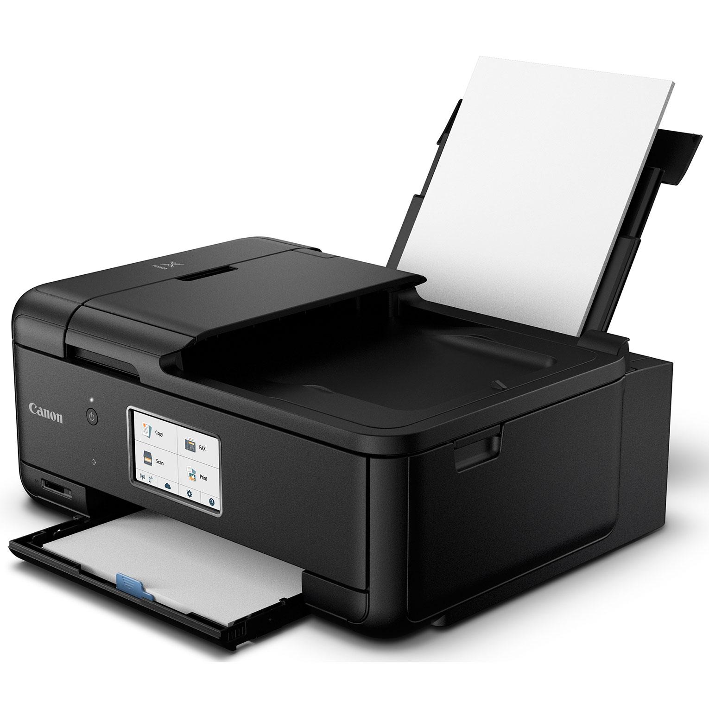 Canon PIXMA TR Wireless All in e Black Printer with USB