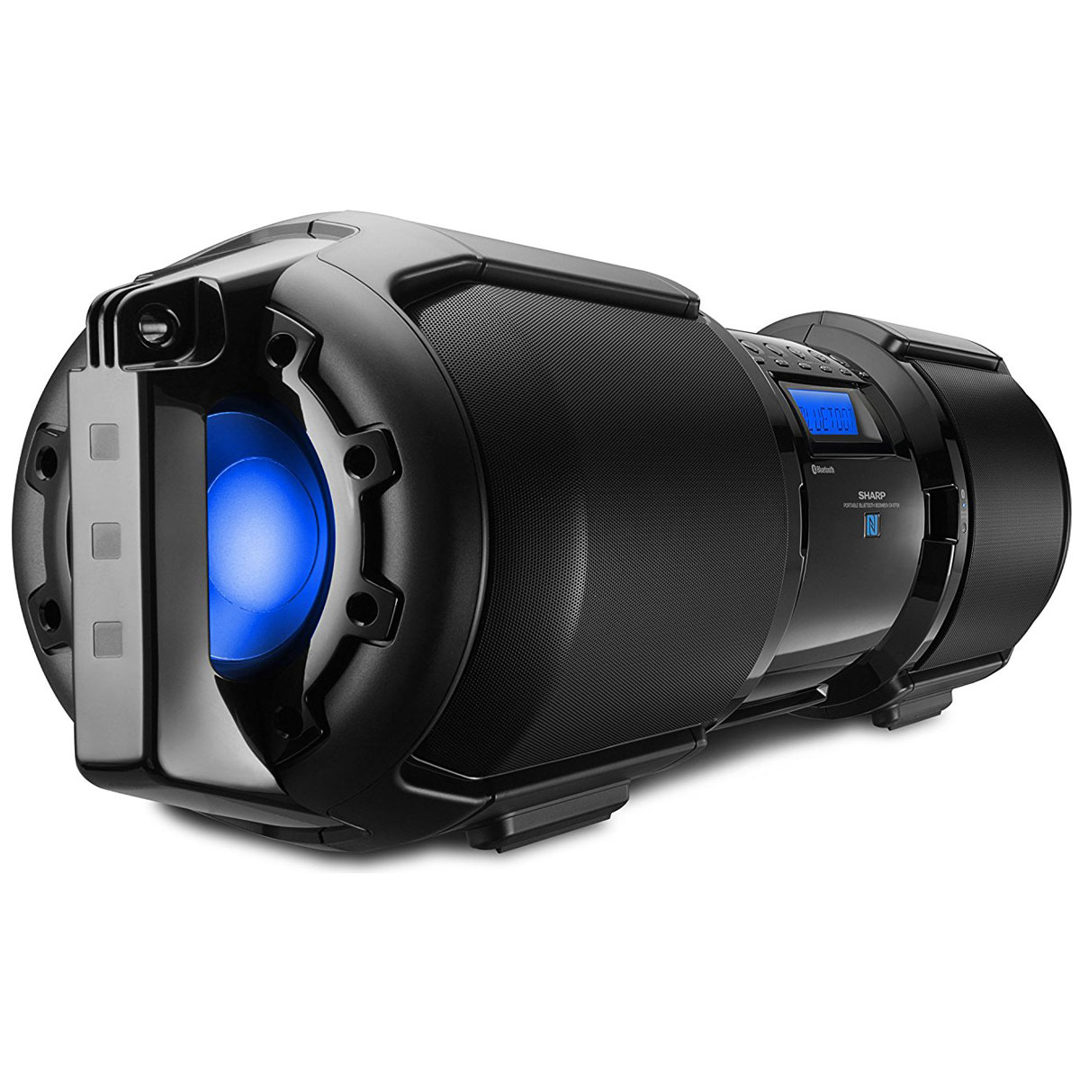 Sharp GX BT9 Portable Bluetooth BoomBox Speaker