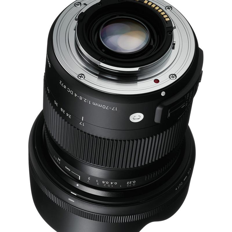 sigma 17 70mm f2 8 4 dc macro os hsm lens for canon mount digital slr cameras 85126884543 ebay. Black Bedroom Furniture Sets. Home Design Ideas