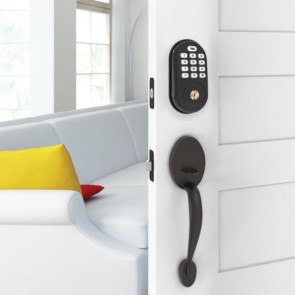 Yale-Locks-Assure-Lock-Push-Button-Door-Security-Bolt-w-Z-Wave-YRD216