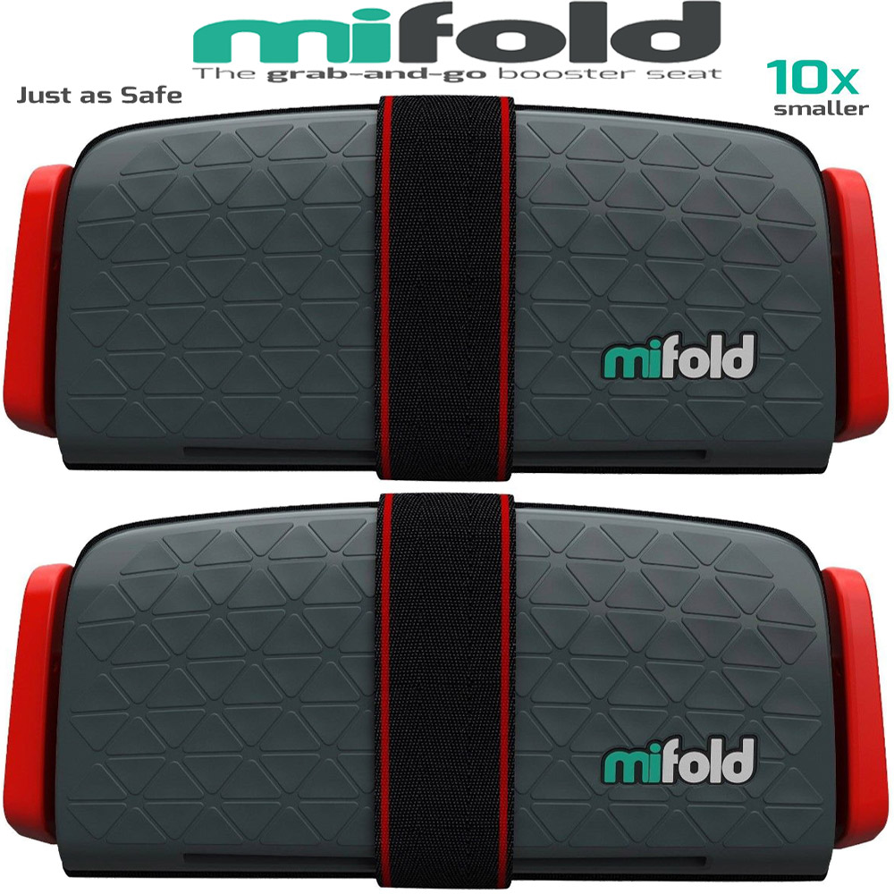 Choose Color Mifold Grab-and-Go Car Booster Seat 2-Pack