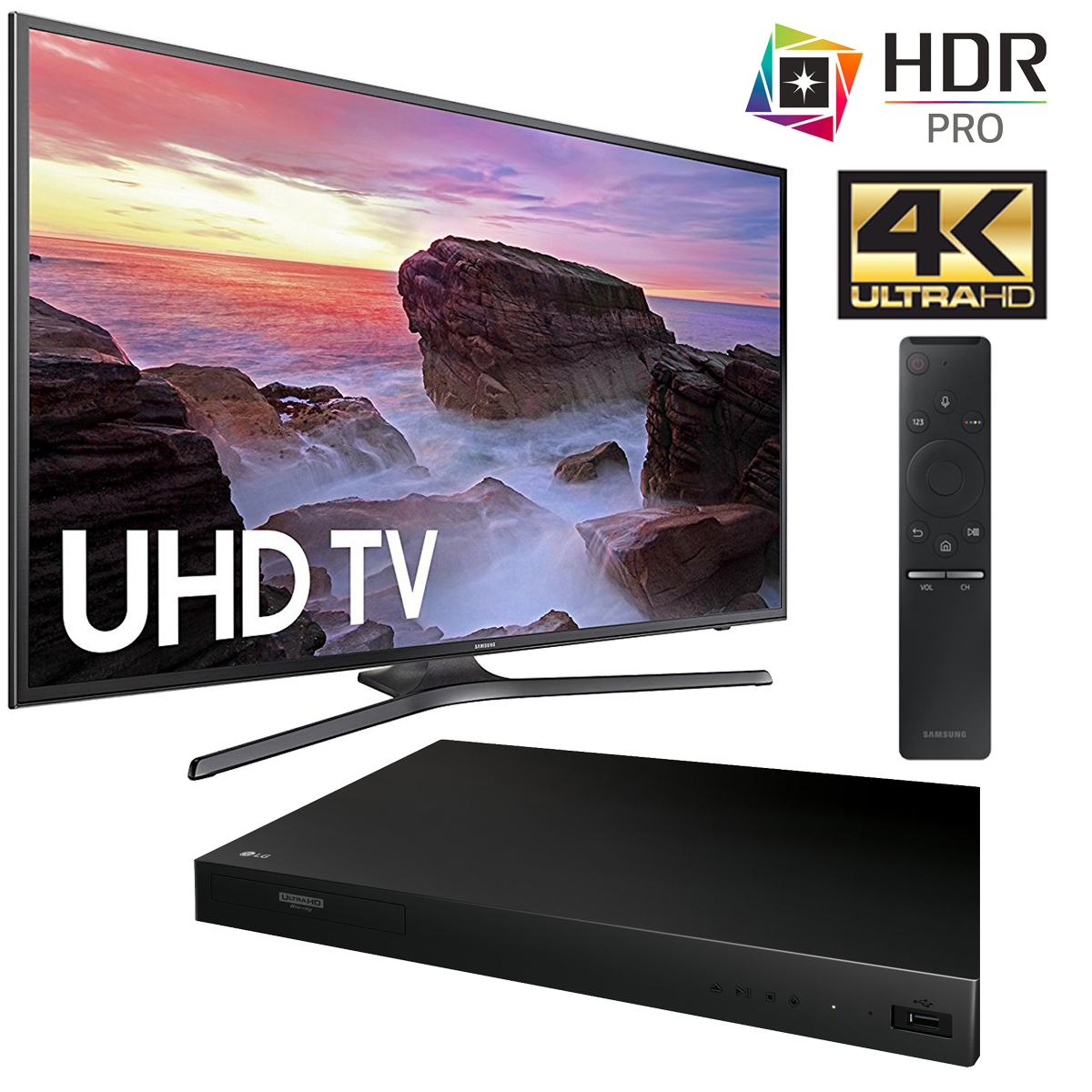 how to connect samsung 4k player to lg 4k tv