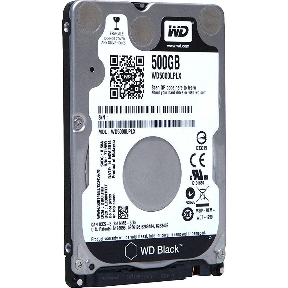 Details about Western Digital 50PK 500GB WD BLACK SATA 6 32MB 2 5IN