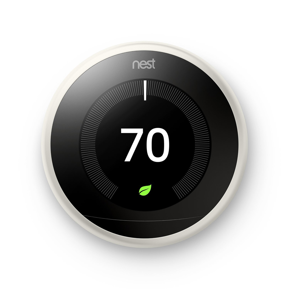Nest-Learning-Thermostat-3rd-Gen-with-Deco-Gear-2-Pack-WiFi-Smart-Plug thumbnail 3