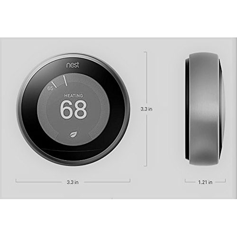 Nest-Learning-Thermostat-3rd-Gen-with-Deco-Gear-2-Pack-WiFi-Smart-Plug thumbnail 6