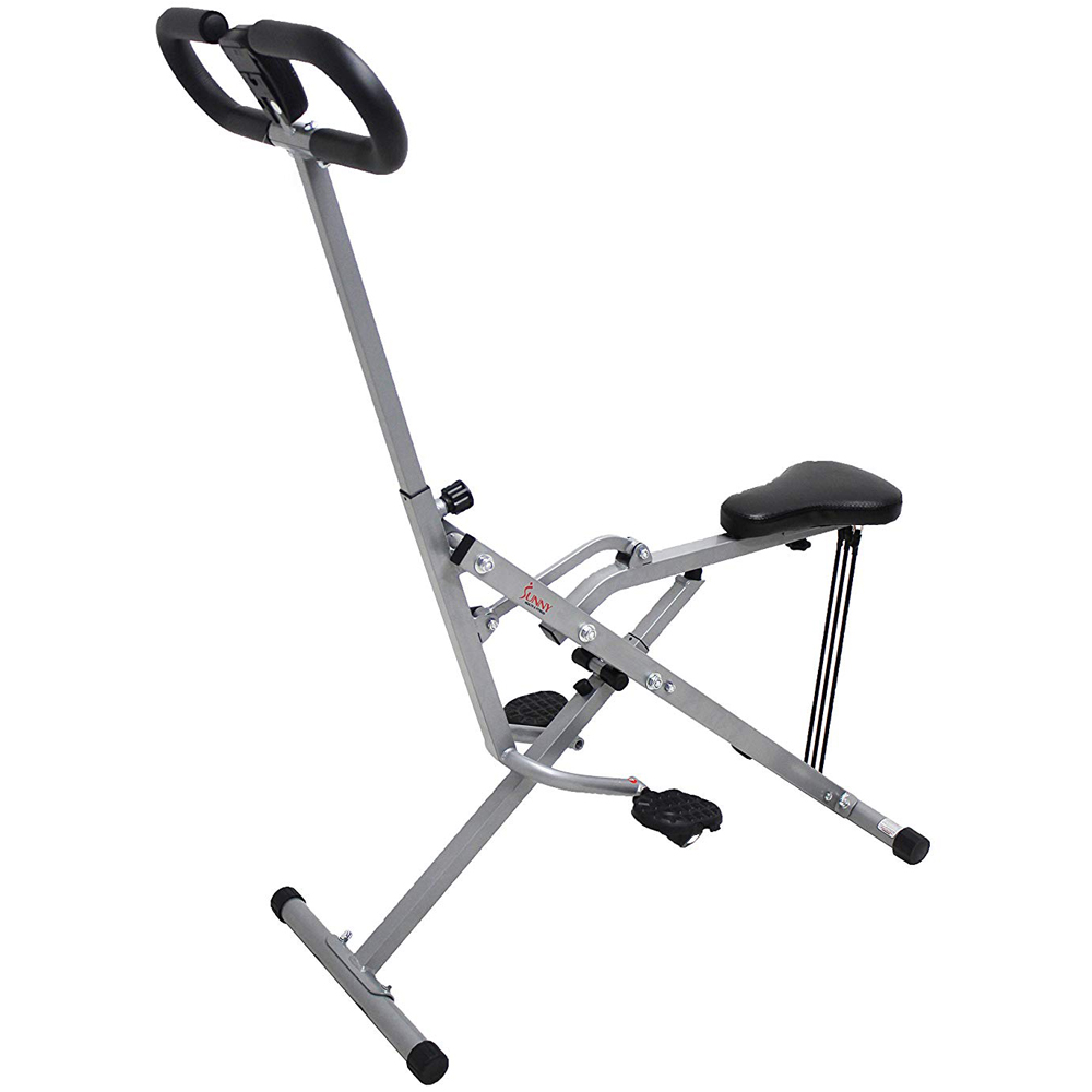 Sunny Health and Fitness Upright Squat Assist Row-N-Ride