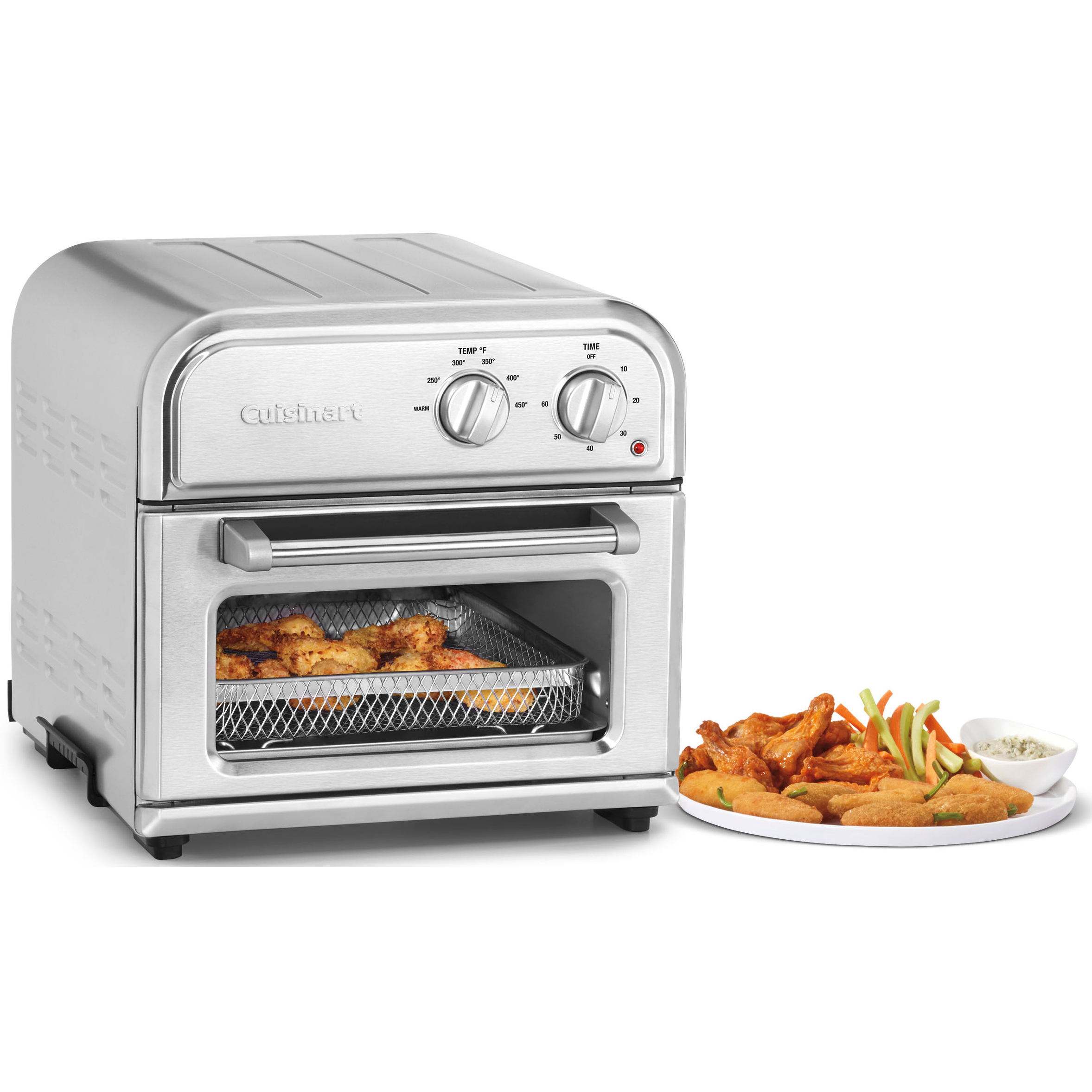 Cuisinart Afr25 High Efficiency Airfryer Stainless Steel