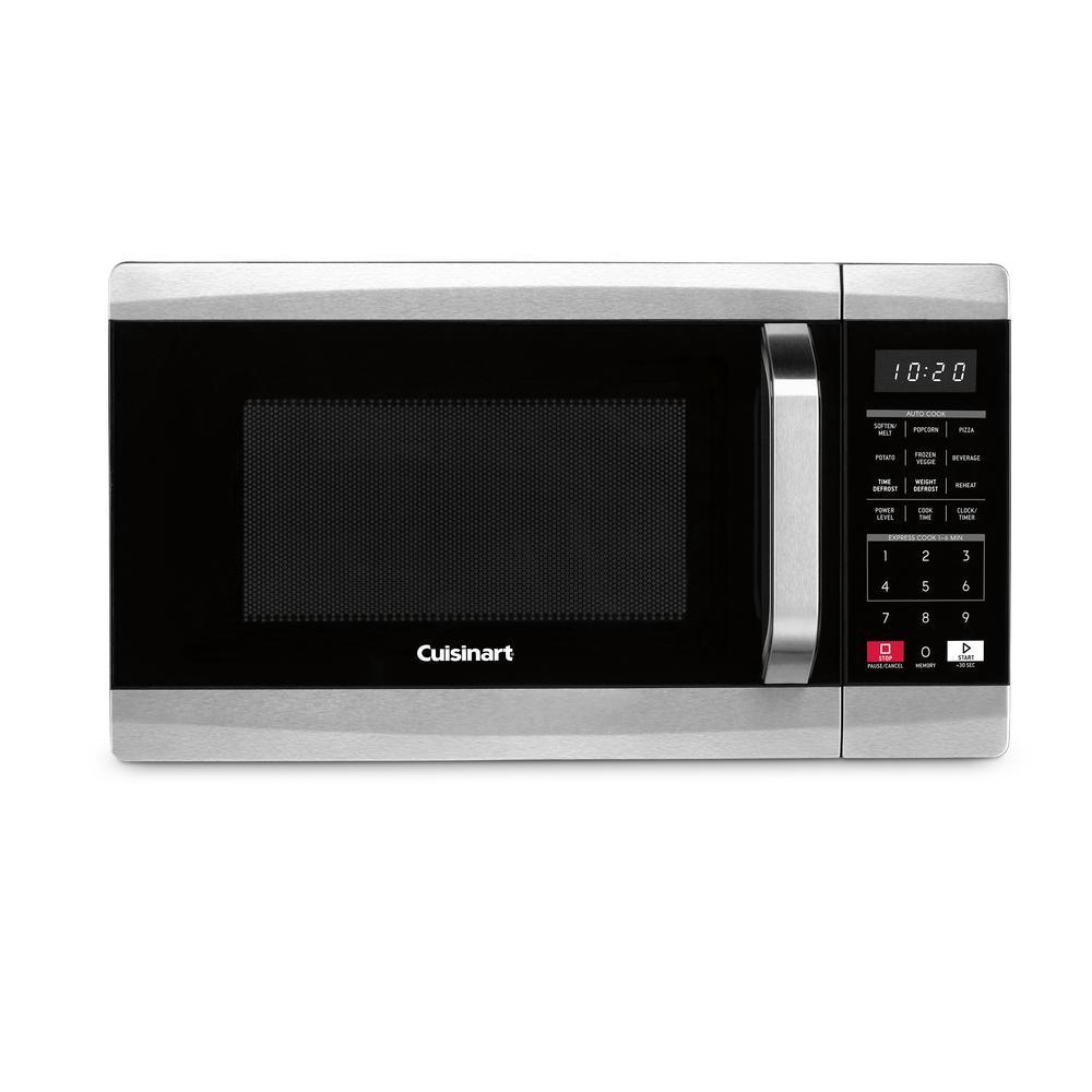 Cuisinart 700 Watt 0 7 Cubic Foot Microwave Oven Cmw 70